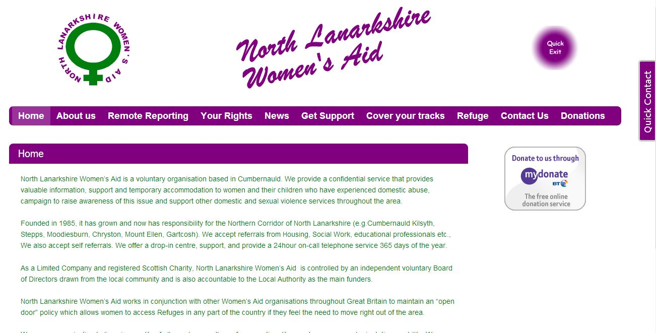 North Lanarkshire Womens Aid